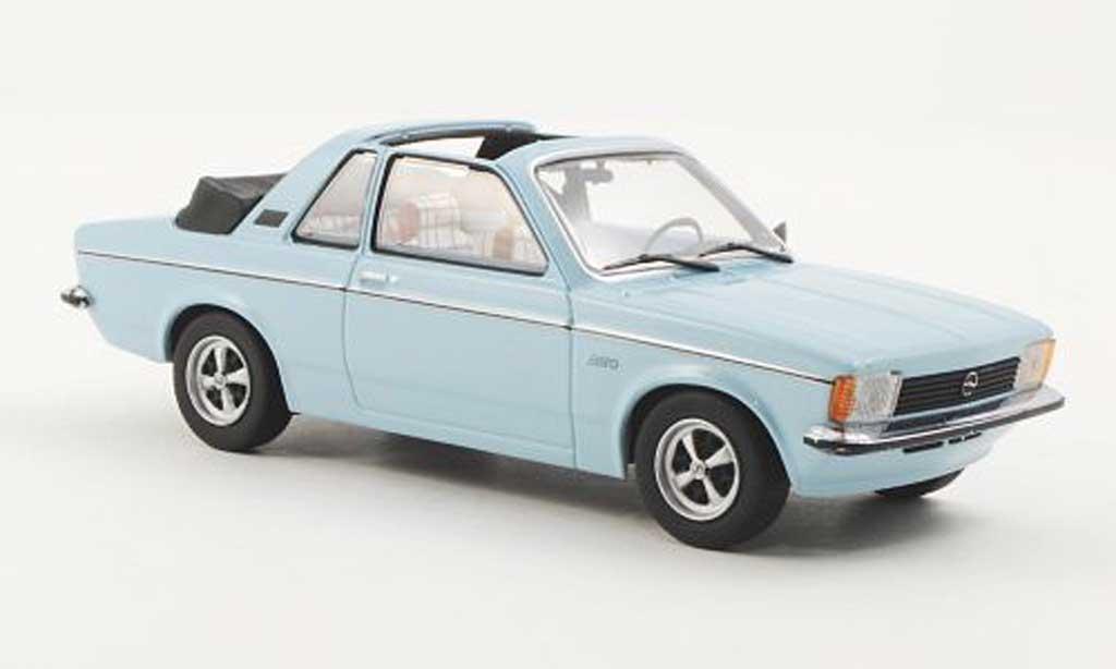 Opel Kadett C 1/43 Minichamps Aero bleu 1978 miniature