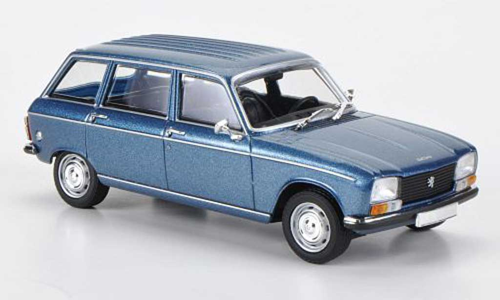 peugeot 304 break miniature bleu 1965 minichamps 1 43 voiture. Black Bedroom Furniture Sets. Home Design Ideas