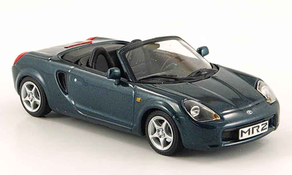 Toyota MR 1/43 Minichamps 2 cabriolet grun 2000 miniature