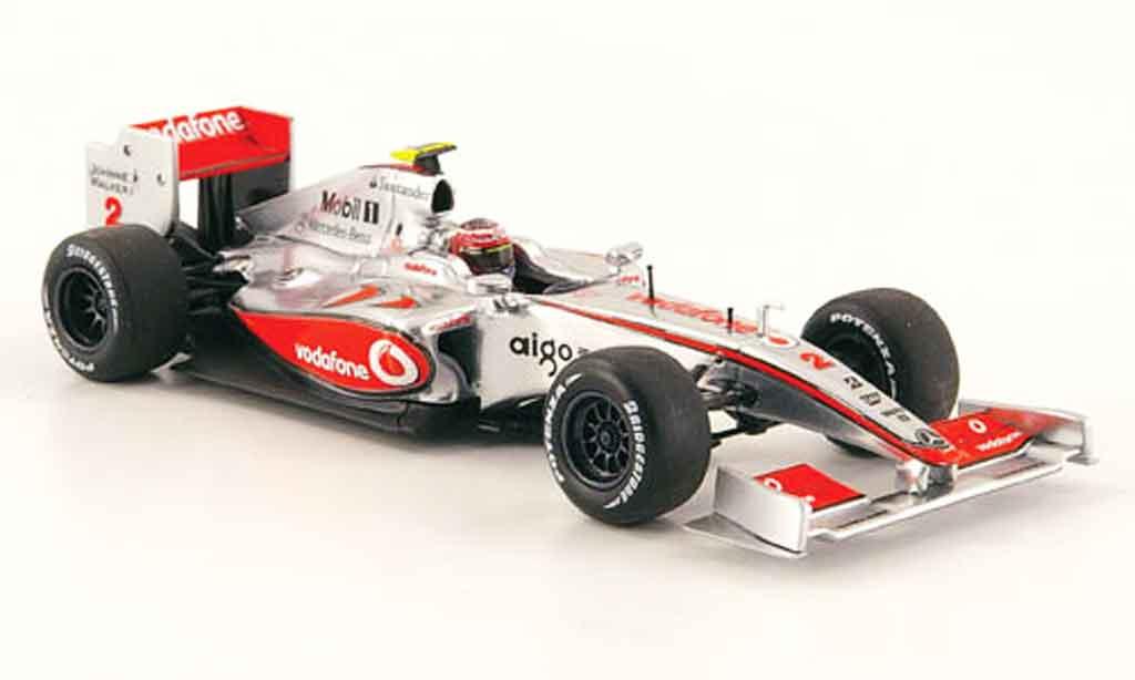 Mercedes F1 1/43 Minichamps McLaren No.2 Showcar H.Kovalainen 2009 miniature