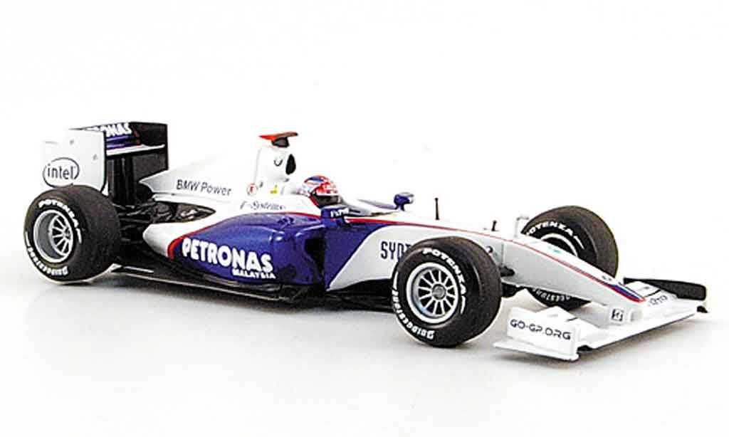 Bmw F1 2009 1/43 Minichamps Sauber Showcar R.Kubica miniature