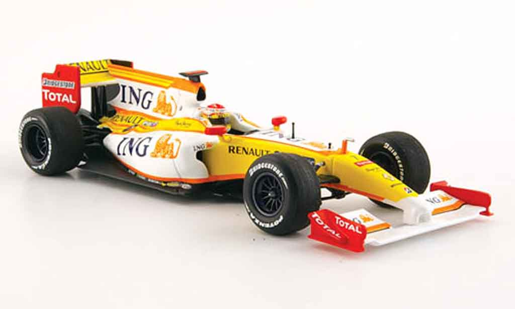 Renault F1 1/43 Minichamps f 1 showcar no.7 2009 miniature