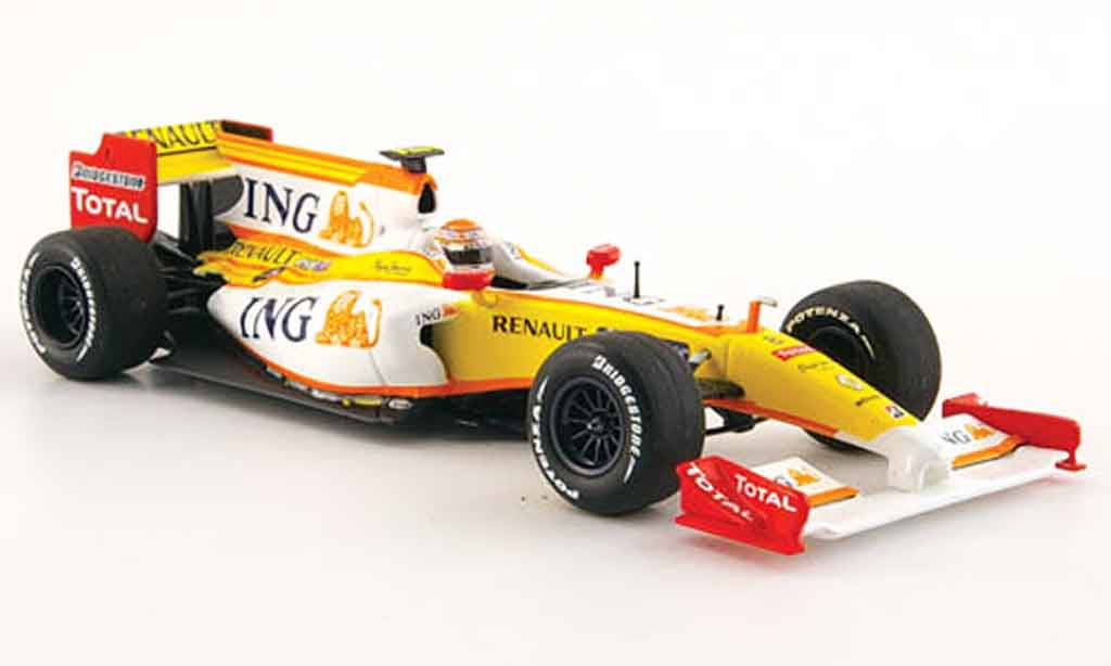 Renault F1 1/43 Minichamps f 1 showcar no.8 2009 miniature