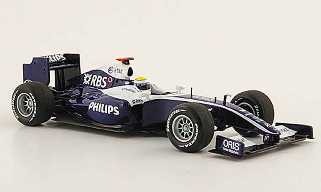 Toyota F1 1/43 Minichamps williams showcar n.rosberg 2009 miniature