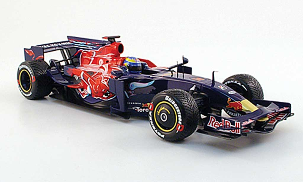 Toro Rosso STR3 1/18 Minichamps no.14 red bull f1 saison 2008 s.bourdais miniature