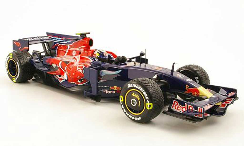 Toro Rosso STR3 1/18 Minichamps no.15 red bull s.vettel gp italien 2008 miniature