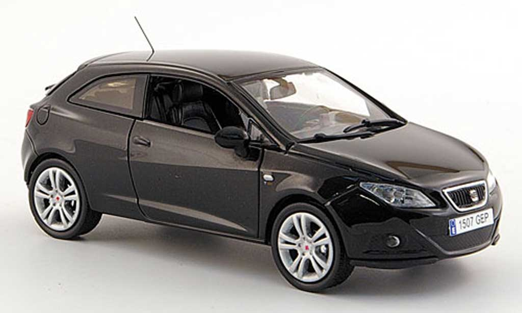seat ibiza sc schwarz 3 portes 2008 j collection modellauto 1 43 kaufen verkauf modellauto. Black Bedroom Furniture Sets. Home Design Ideas