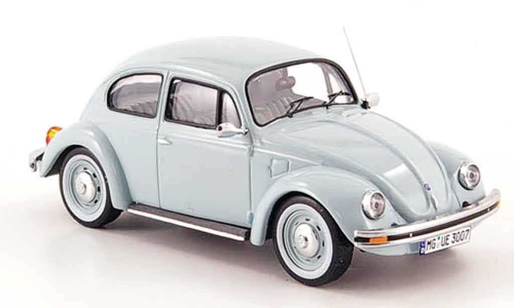 Volkswagen Coccinelle 1/43 IXO mexico 1600i bleu ultima edicion 2003