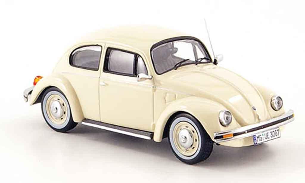 Volkswagen Coccinelle 1/43 IXO mexico 1600i beige ultima edicion 2003 miniature