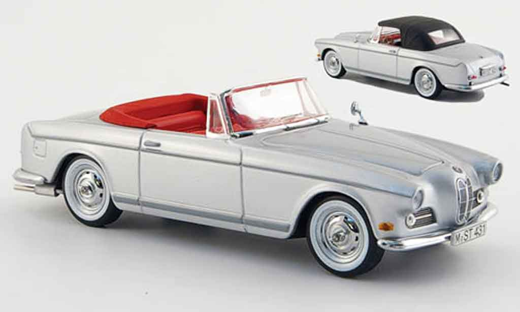 Bmw 503 1/43 Schuco grise metallisee inklusive Softtop 1956 miniature