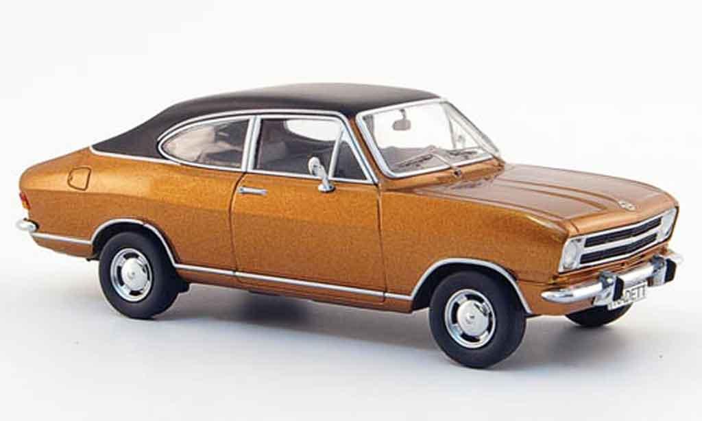 Opel Kadett B 1/43 Schuco coupe bronze noire 1967 miniature