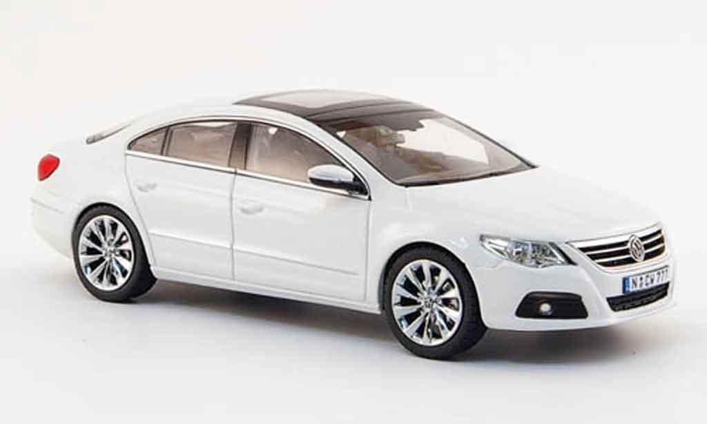 volkswagen passat cc miniature blanche concept white 2007 schuco 1 43 voiture. Black Bedroom Furniture Sets. Home Design Ideas