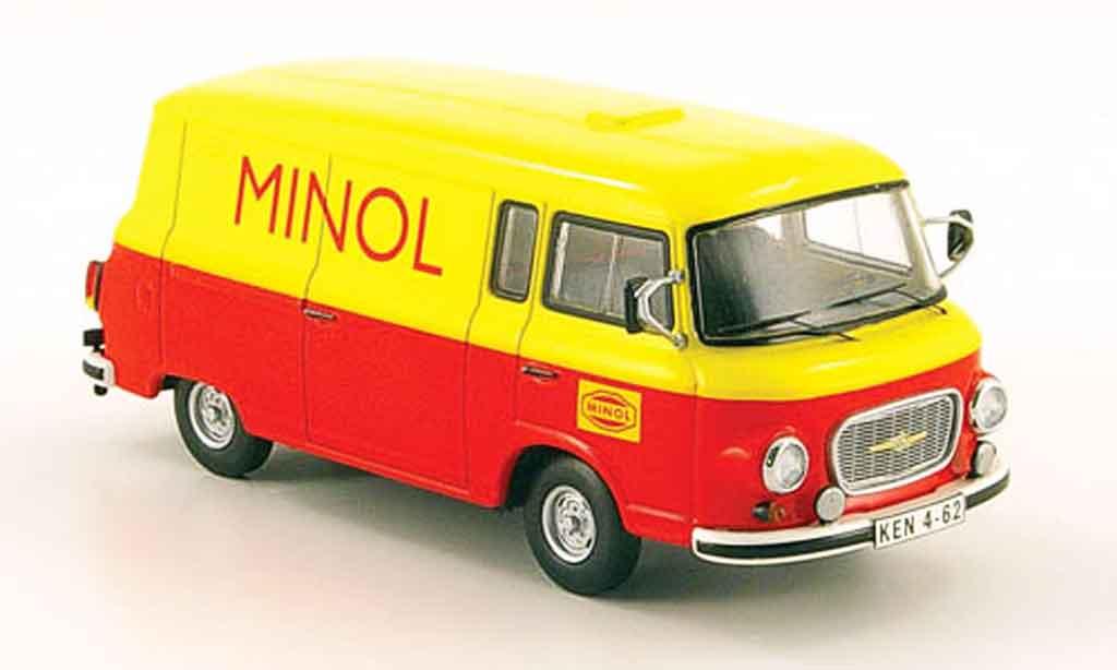 Barkas B 1000 1/43 Schuco Kastenwagen Minol diecast model cars