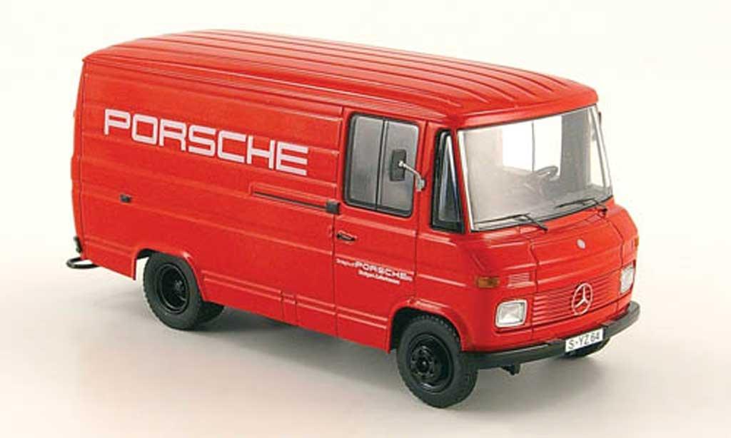 Mercedes L408 1/43 Schuco Kastenwagen Porsche