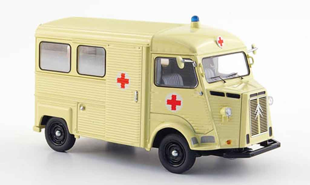 Citroen Type HY 1/43 Schuco bus rougees kreuz miniature