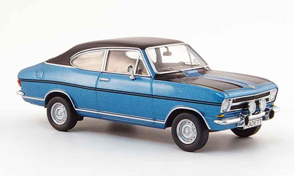 Opel Kadett B 1/43 Schuco coupe rallye bleu 1970