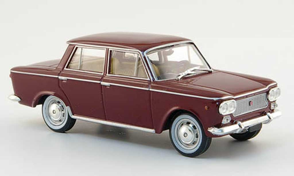 Fiat 1500 1/43 Starline rouge 1961 miniature