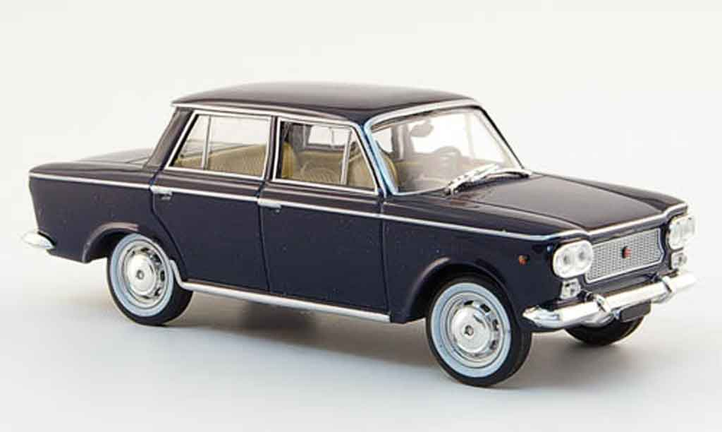 fiat 500 miniature 1 bleu 1961 starline 1 43 voiture. Black Bedroom Furniture Sets. Home Design Ideas