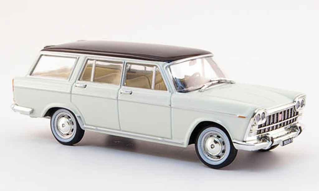 Fiat 2300 1/43 Starline Familiare blanche noire 1963 miniature
