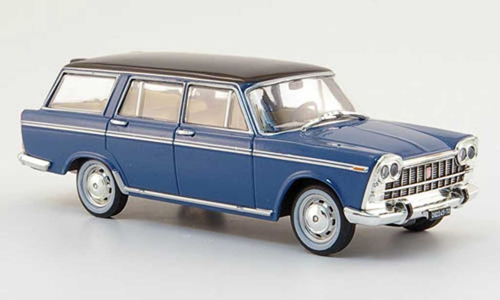 Fiat 2300 1/43 Starline Familiare bleu/noire 1963 miniature