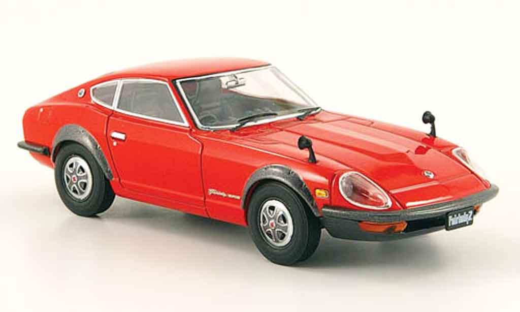 Nissan 240 ZG 1/43 Ebbro Fairlady rouge 1971