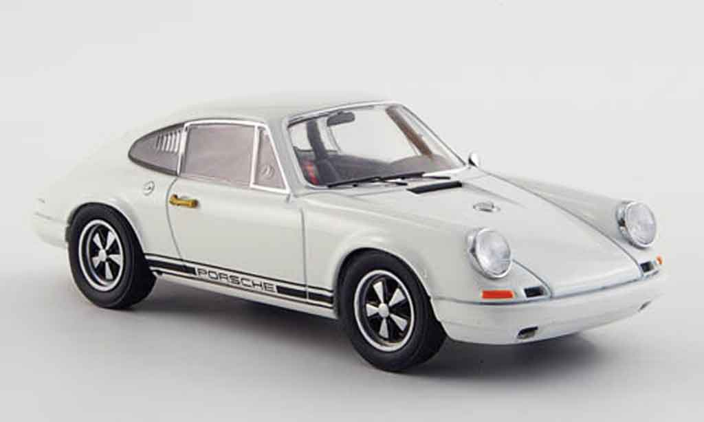 Porsche 911 1/43 Ebbro R white 1967 diecast model cars