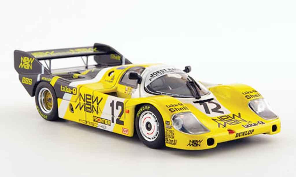 Porsche 956 1983 1/43 Ebbro No.12 Newman WEC Japan miniature