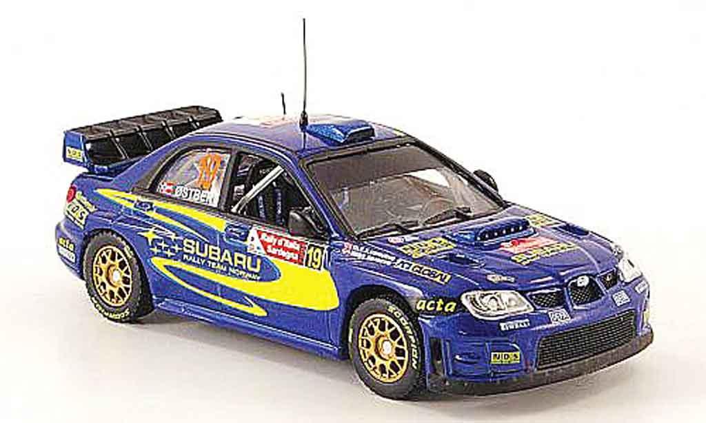 Subaru Impreza WRC 1/43 Vitesse 07 no.19 rallye italien 2008