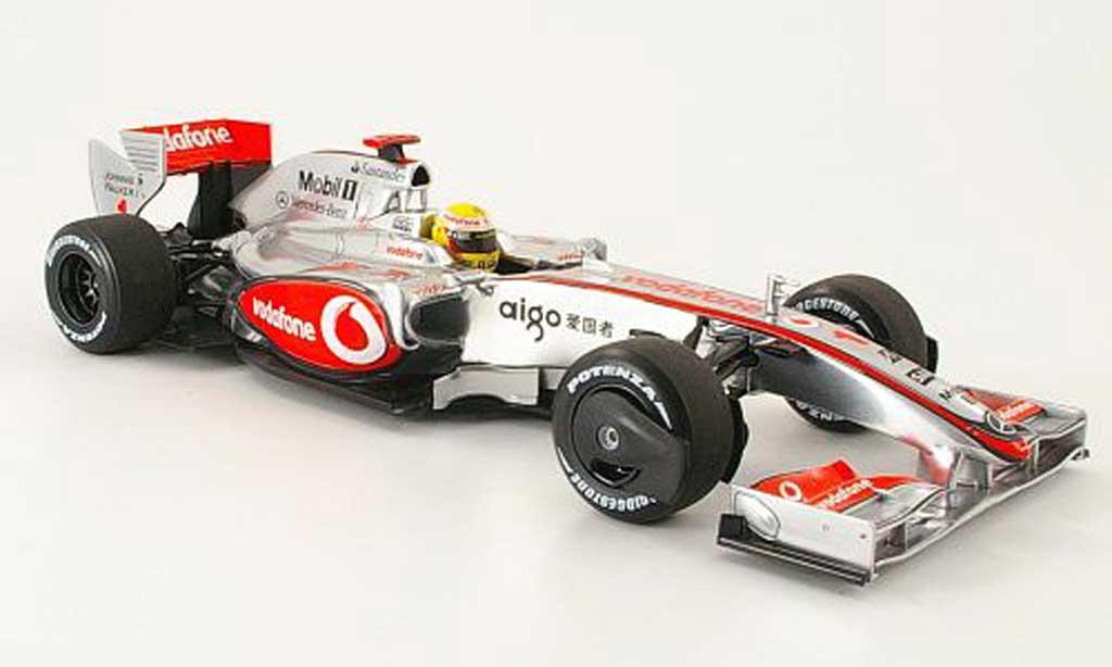 Mercedes F1 1/18 Minichamps mclaren mp 4/24 no.1 vodafone l.hamilton 2009 miniature