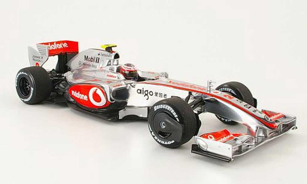 Mercedes F1 1/18 Minichamps mclaren mp 4/24 no.2 vodafone h.kovalainen 2009 miniature