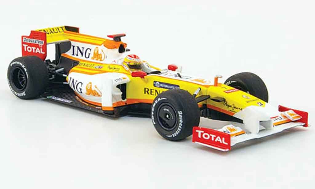 Renault F1 1/43 Minichamps r 29 ing no.7 2009 miniature