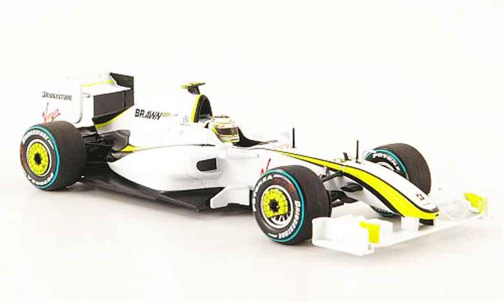 Mercedes F1 1/43 Minichamps Brawn GP BGP 001 No.23 R.Barrico GP AUS 2009 miniature