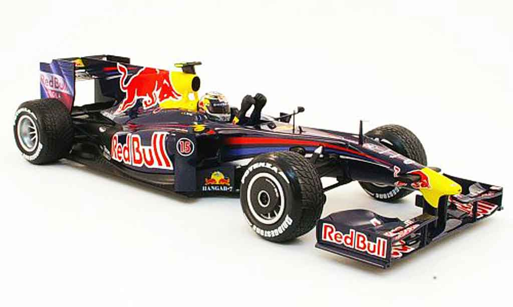 renault f1 miniature red bull rb5 renault sieger gp china 2009 minichamps 1 18. Black Bedroom Furniture Sets. Home Design Ideas