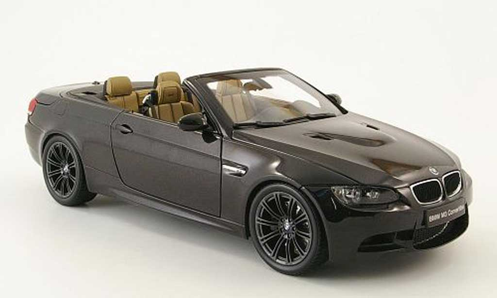 Bmw M3 E93 1/18 Welly cabriolet black diecast model cars