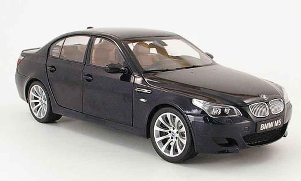 bmw m5 e60 schwarz kyosho modellauto 1 18 kaufen verkauf modellauto online. Black Bedroom Furniture Sets. Home Design Ideas