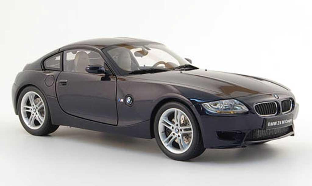 Bmw Z4 M Coupe E86 Black Kyosho Diecast Model Car 1 18