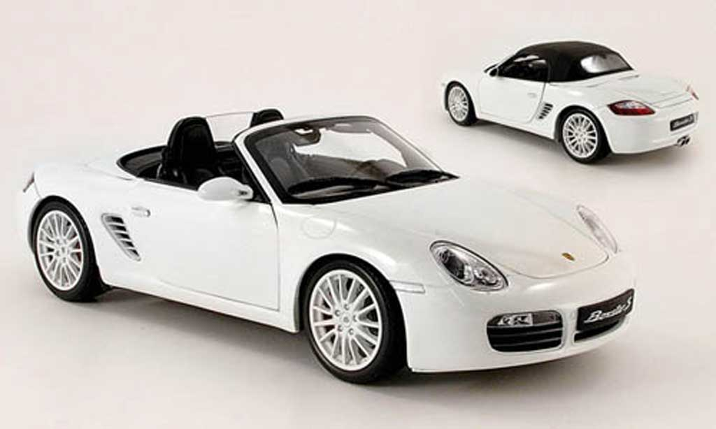 Porsche Boxster 1/18 Kyosho s blanche miniature