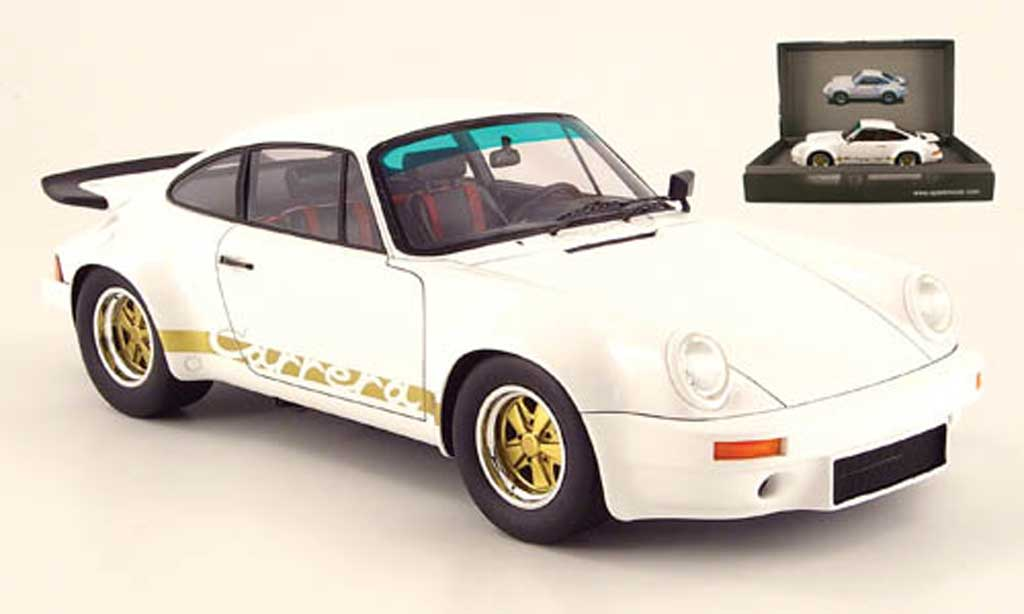 Porsche 930 RS 1/18 Spark carrera 3.0 white 1974 diecast model cars
