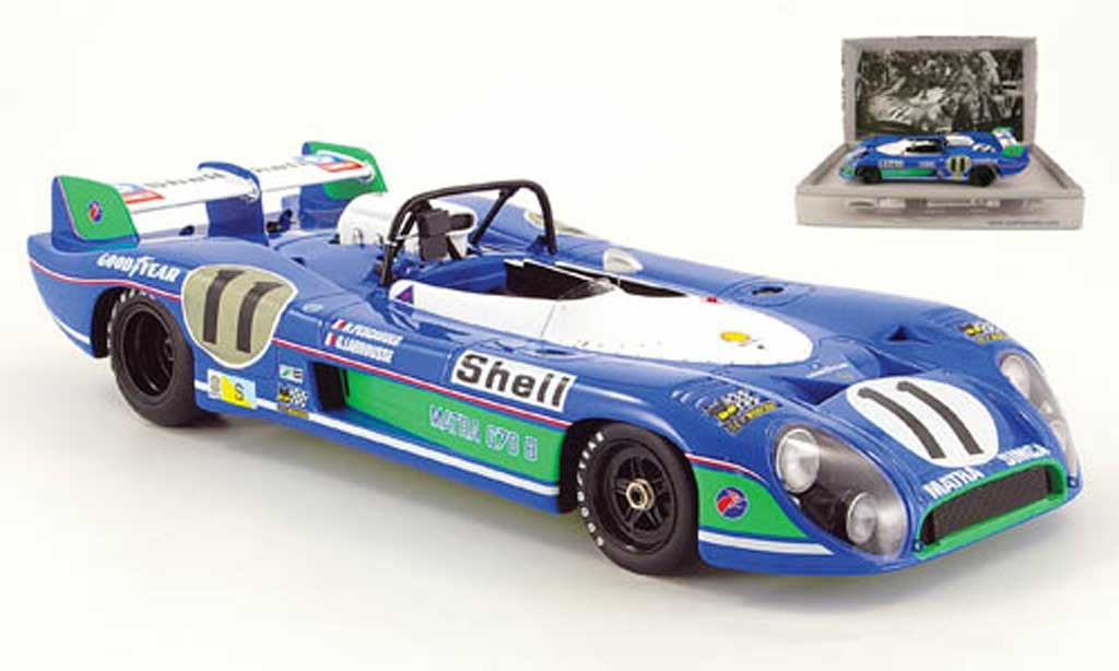 Simca Matra 1/18 Spark ms 670 no.11 sieger le mans 1973 diecast model cars