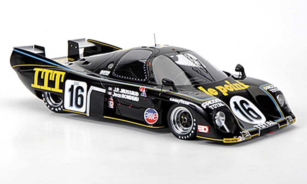 Rondeau M379C 1/18 Spark No.16 Le Point J. / J.P.Jaussaud 24h Le Mans 1980 diecast model cars