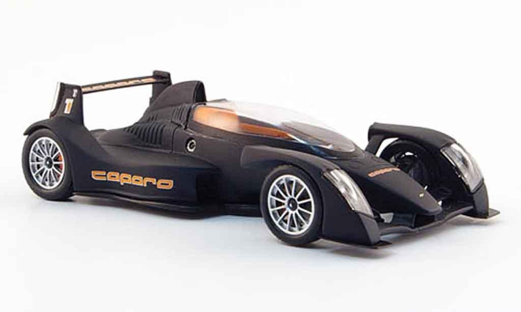 Caparo T1 1/43 Spark mattnoire 2008 miniature