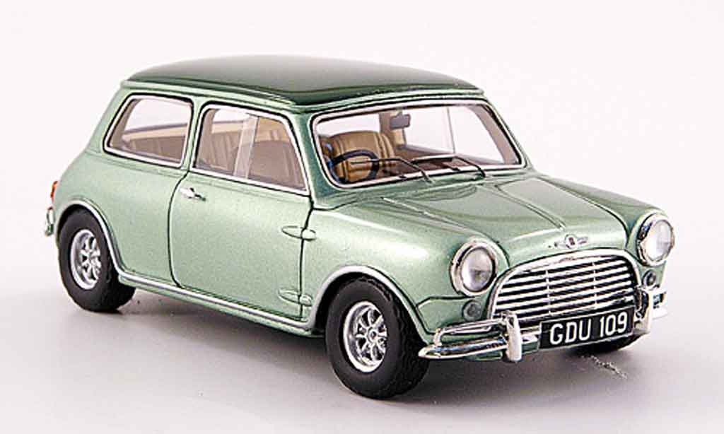 Austin Mini Cooper 1/43 Spark Sprint Stra?enversion grun 1969 diecast model cars