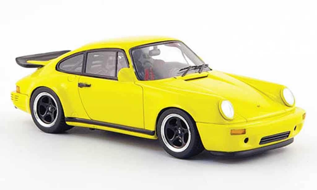 Ruf CTR 1987 1/43 Spark Sport jaune miniature