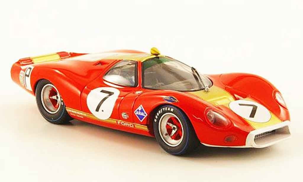 Ford P68 1/43 Minichamps No.7 1000 Km Nurburgring 1968 miniature