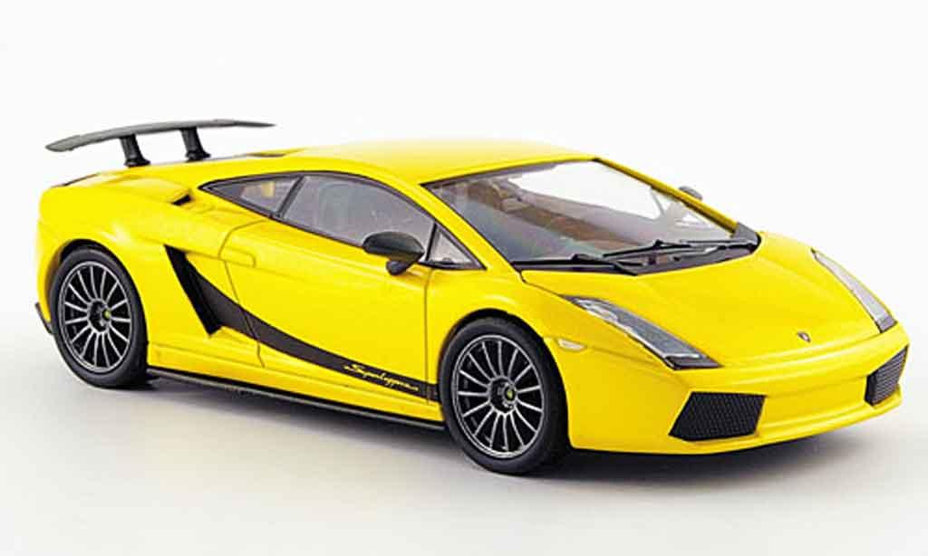 Lamborghini Gallardo Superleggera 1/43 Kyosho yellow diecast model cars