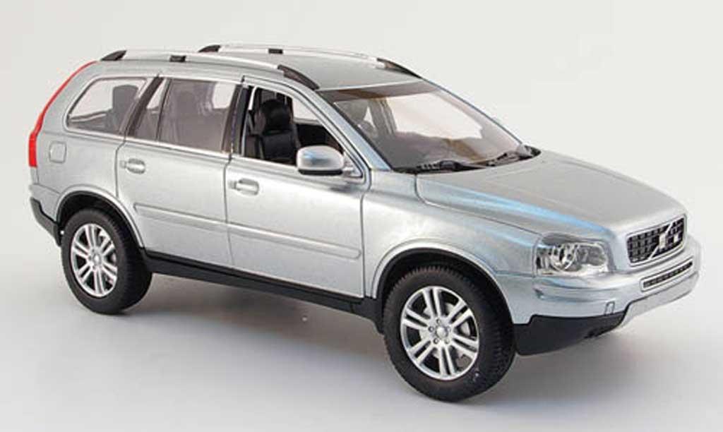 volvo xc 90 miniature grise 2007 powco 1 18 voiture. Black Bedroom Furniture Sets. Home Design Ideas