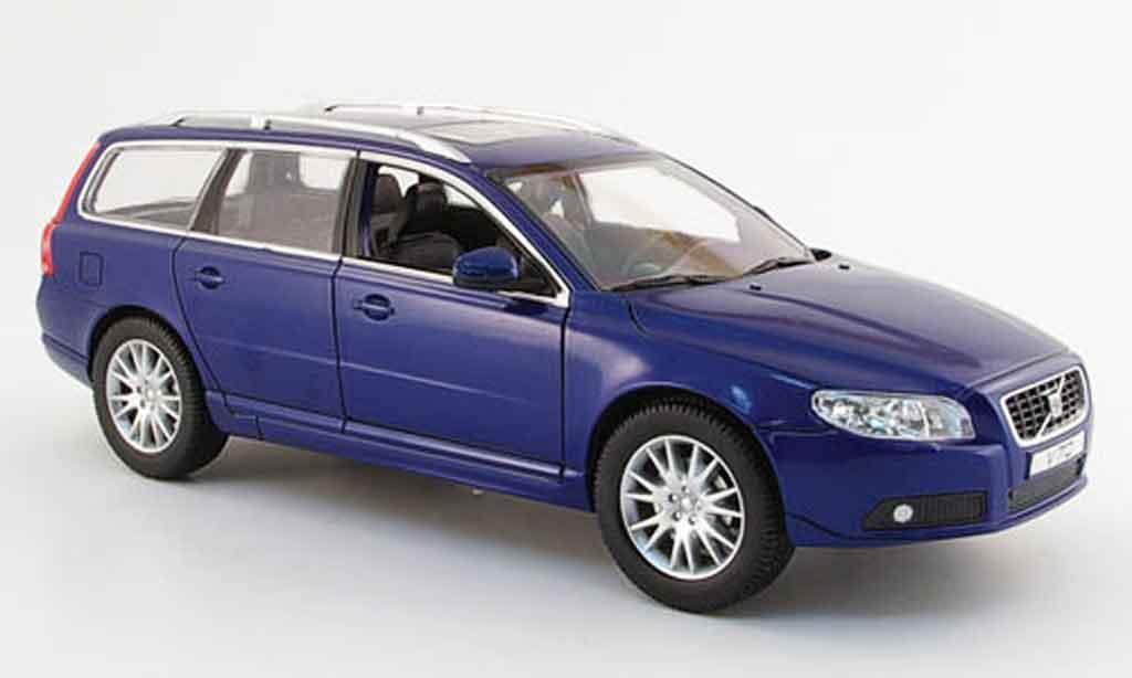 volvo v70 blau 2006 powco modellauto 1 18 kaufen verkauf modellauto online. Black Bedroom Furniture Sets. Home Design Ideas