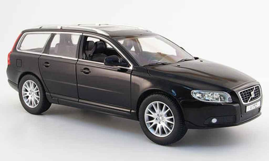 Volvo V70 black 2006 Powco. Volvo V70 black 2006 miniature 1/18