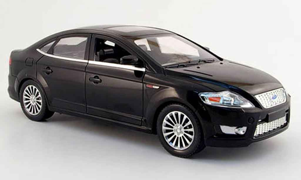 ford mondeo black 2006 powco diecast model car 1 18 buy. Black Bedroom Furniture Sets. Home Design Ideas