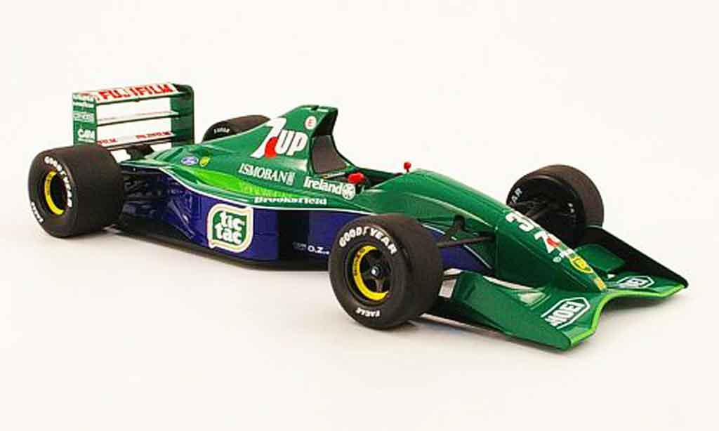 Ford F1 1/18 Minichamps jordan ford191 no.32 tic tac m.schumacher gp belgien 1991 miniature